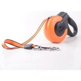 Рулетка Fida Ranger Mars XS шнур 3м оранжевая/черная для собак до 12кг