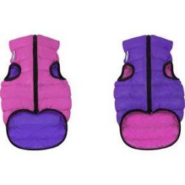 Курточка CoLLaR AiryVest двухсторонняя розово-фиолетовая размер M 50 для собак (1627)
