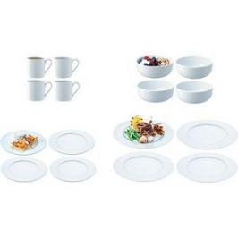 Набор посуды с бортиком 16 предметов LSA International Dine (P215-02-997)