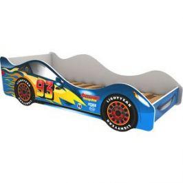 Кровать-машина Бельмарко Тачка синяя 160x70