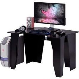 Стол компьютерный Мастер Страйкер (чёрный/чёрный)МСТ-СИС-01-ЧР-ЧР-16
