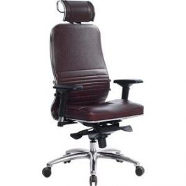 Кресло Метта Samurai KL-3.03 темно-бордовый