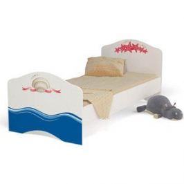 Кровать-классика ABC-KING Ocean 190x90 без ящика для девочки
