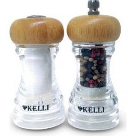 Набор мельница для перца и солонка Kelli (KL-11108)
