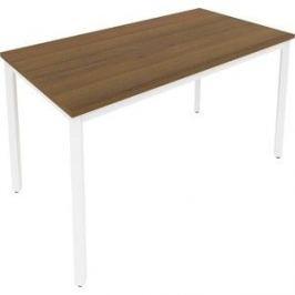 Стол письменный на металлокаркасе Riva Slim С.СП-5 орех/белый металл 138x72x75
