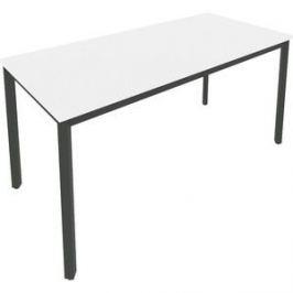 Стол письменный на металлокаркасе Riva Slim С.СП-6 белый/антрацит металл 158x72x75 комплект