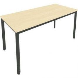 Стол письменный на металлокаркасе Riva Slim С.СП-6 клен/антрацит металл 158x72x75 комплект