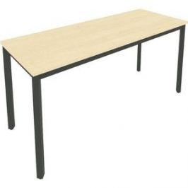 Стол письменный на металлокаркасе Riva Slim С.СП-6.1 клен/антрацит металл 158x60x75 комплект