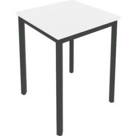 Стол письменный на металлокаркасе Riva Slim С.СП-1.1 белый/антрацит металл 60x60x75 комплект