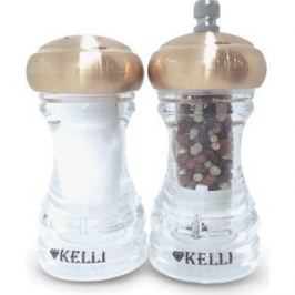 Набор мельница для перца и солонка Kelli (KL-11115)