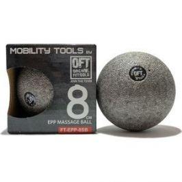 Мяч массажный Original FitTools одинарный 8 см серый