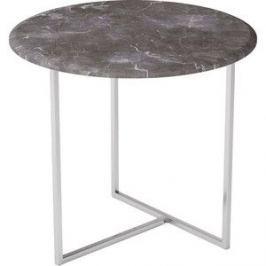Стол журнальный Калифорния мебель Альбано серый мрамор