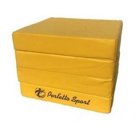 Мат PERFETTO SPORT Мат № 11 (100 х 100 х 10) складной 4 сложения жёлтый