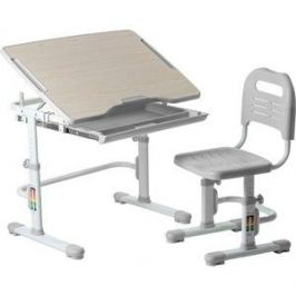 Комплект парта + стул трансформеры FunDesk Vivo green