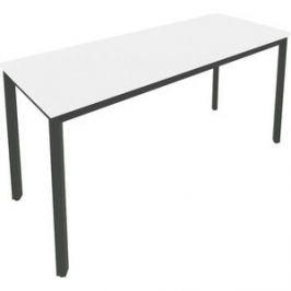 Стол письменный на металлокаркасе Riva Slim С.СП-6.1 белый/антрацит металл 158x60x75 комплект
