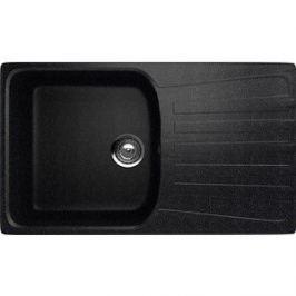 Кухонная мойка EcoStone черная (ES-20-308)