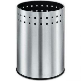 Корзина металлическая для мусора Лайма Bionic матовая, перфорированная, несгораемая, 12 л 232268