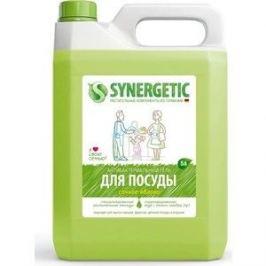 Средство для мытья посуды Synergetic ЯБЛОКО, концентрированное, 5 л