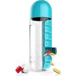 Бутылка органайзер 0,6 л голубая Asobu In style (PB55 blue)