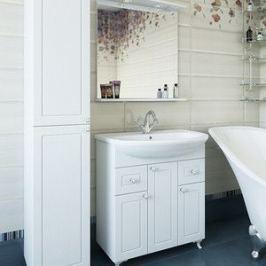 Мебель для ванной Sanflor Софи 75 напольная, белая