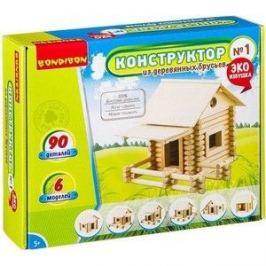 Конструктор Bondibon из деревянных брусьев №1 (ВВ2601 )