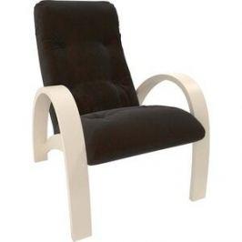 Кресло Мебель Импэкс Модель S7 дуб шампань/шпон ткань Verona wenge