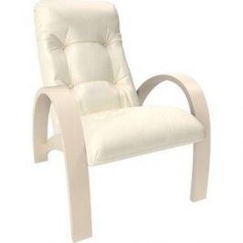 Кресло Мебель Импэкс Модель S7 дуб шампань/шпон к/з dundi 112