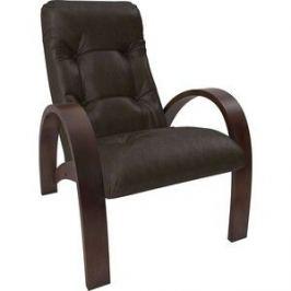 Кресло Мебель Импэкс Модель S7 орех/шпон к/з Vegas lite amber