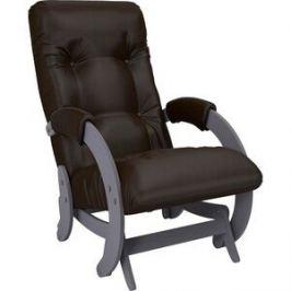 Кресло-качалка глайдер Мебель Импэкс Модель 68 маренго к/з oregon perlamutr 120