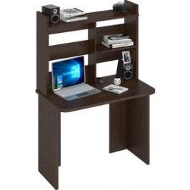 Стол компьютерный МЭРДЭС СКЛ-Прям100Р(без тумбы)+НКЛ-100 В