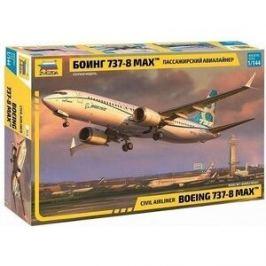 Сборная модель Звезда Пассажирский авиалайнер Боинг 737 - 8 MAX, 1/144 - ZV - 7026
