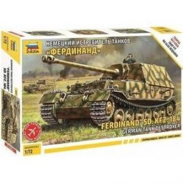 Сборная модель Звезда Немецкий истребитель танков Фердинанд (сборка без клея), 1/72 - ZV - 5041