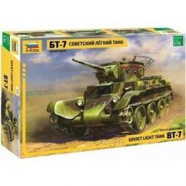 Сборная модель Звезда Советский лёгкий танк БТ - 7, 1/35 - ZV - 3545