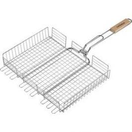 Решетка для гриля Grinda barbecue 424732 , объемная, нержавеющая сталь, 340х260мм