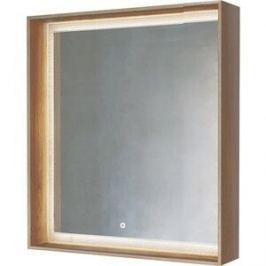 Зеркало Raval Frame 75 с подсветкой, сенсор, дуб трюфель (Fra.02.75/DT)
