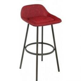 Барный стул Woodville Bosito wine red