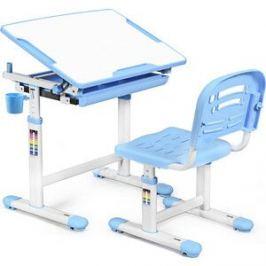 Комплект мебели (столик + стульчик) Mealux EVO-06 blue столешница белая/пластик синий