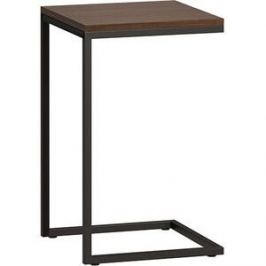 LoftyHome Стол приставной Бервин коричневый