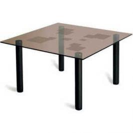 Стол журнальный Мебелик Робер 9М черный/тонированное