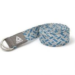 Ремень для йоги Reebok премиум , Изумрудный / серый RAYG-10026