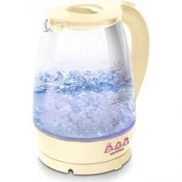Чайник электрический Мастерица EK-1801G ваниль