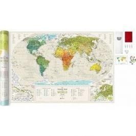 Карта 1DEA.me Travel map geograghy world