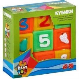 Игровой набор для купания Bondibon Цифры, Фрукты, Животные, 9 штук (ВВ2001)