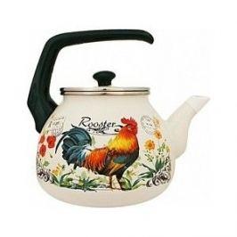 Чайник эмалированный 3.0 л Interos Петушок 3.0л 16366а