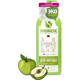 Средство для мытья посуды и фруктов Synergetic Яблоко, концентрированное, 1 л