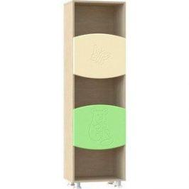 Шкаф комбинированный Compass ДК-2К эвалипт шагрень/ваниль шагрень