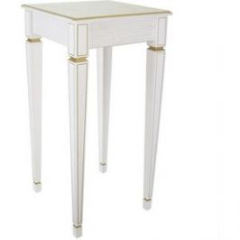 Подставка Мебелик Васко В 47Н белый ясень/золото