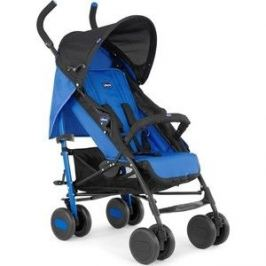 Коляска трость Chicco Echo stroller с бампером Power Blue
