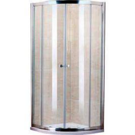 Душевой уголок Cezares Pratico R-2 80х80 прозрачный, хром, с поддоном