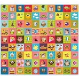 Игровой коврик Mambobaby Совята 200х180х05